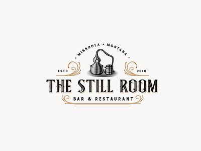 The Still Room rustic bar whiskey artisan alembic still restaurant still vintage