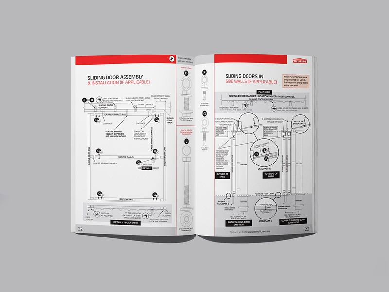 Construction Guide - Frame Structure and Building Instructions kit house garage shed guide manual brochure a4 quality ikea screw diagram builder structure frame instructions building