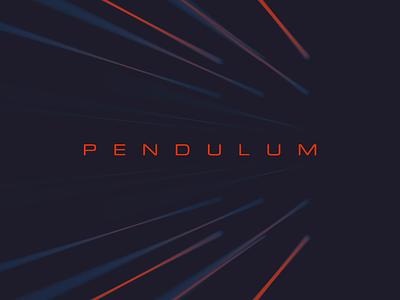 Pendulum animation design photoshop after effects cinema4d cinema 4d abstract light minimal typography looping loop animation loop lighting animation 2d animation 3d animation pendulum