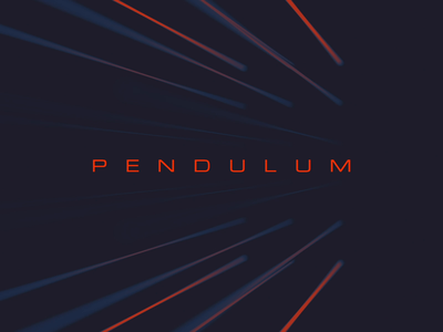 Pendulum animation design photoshop after effects cinema4d cinema 4d abstract light minimal typography looping loop animation loop lighting animation 2d animation 3d animation pendulum