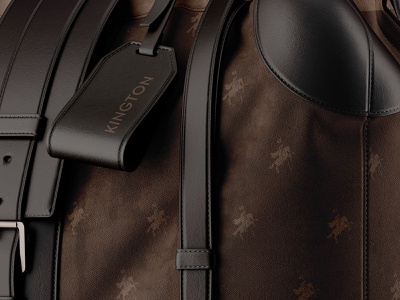 Kington Men's Fashion Brand Bag fashion brand bag design medieval logo premium exotic luxury fashion mens bag