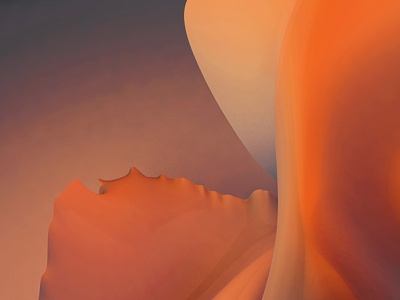 Waves Edition 6 print contemporary modern curves ripple natural digital art abstract dunes wave smooth render cinema 4d photoshop earth nature dust sandy dune sand