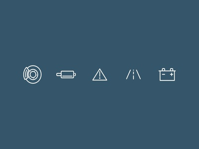 Mobile Mechanic Icons 1/2