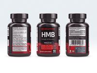 Megathom HMB Labels
