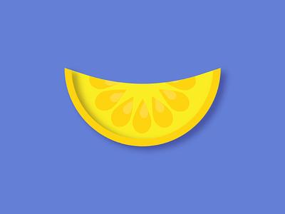 Fruit Series Part 2: Mr. Lemon colorful fruit shapes illustration
