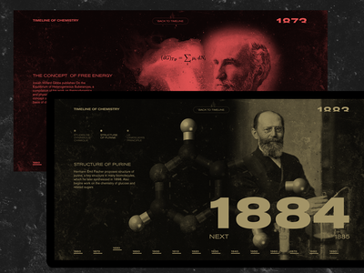 TOC #1 sideproject education chemistry minimal typography design web desktop ui