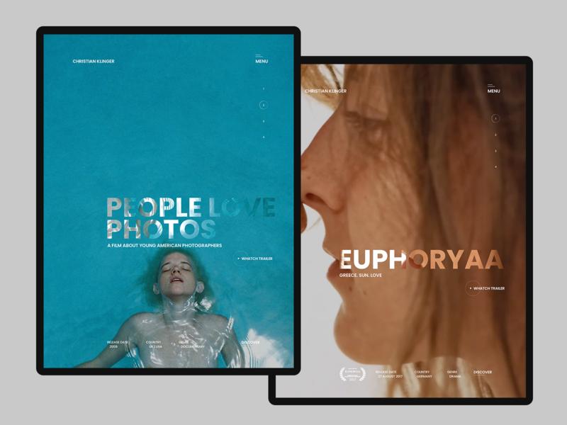Christian Klinger desktop tablet adaptive typography photography documentary filmmaker christian klinger