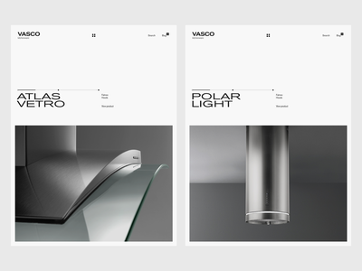 Experiments #23 kitchenware kitchens hoods web ui tablet clean minimal