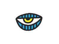 Lazy Eye Logo Variation 2