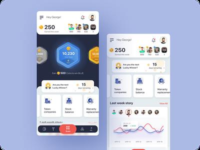 RyoID - Scan graphic design dashboard scan app design illustration ux design ui design