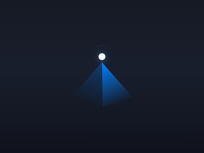 The sharpshooter icon design minimal digital app ui black illustration