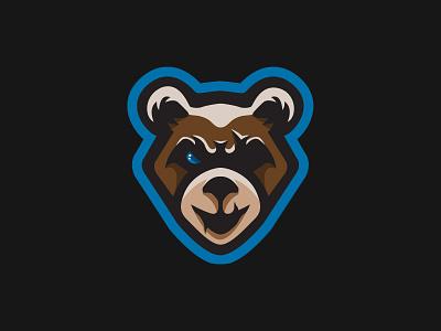 Battlebear brand esports design animal logo illustraion mascot logo bear animal
