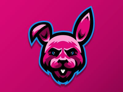 BubbleBunny mascot design bunny mascotlogo vector illustration icon mascot design gaming logo branding