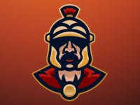 Lone Centurion | Premade Mascot Logo