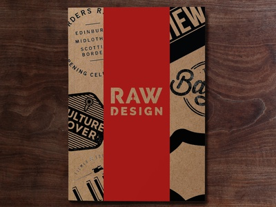 RAW DESIGN | Zine