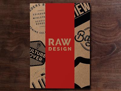 RAW DESIGN | Zine showcase branding logo zine magazine