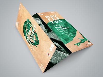 Shall Roger Casement Hang? | Trifold rogercasement paint promotion printdesign trifold design