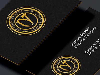 Fallen Angels | Business Cards branding business rebranding gaming rebrand esports logo businesscards