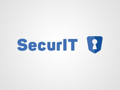 SecurIT - Branding branding design security logo web security vector icon design branding logo