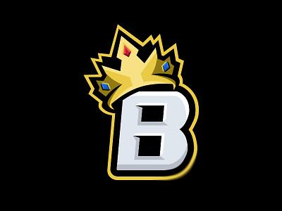 'BTheKingLIVE' - Branding typography vector brand illustration design icon mascotlogo mascot branding crown logo crown king