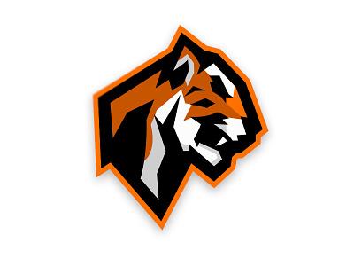 Tiger - Mascot Logo branding design mascot logo sports for sale fierce beast warrior mascot design gaminglogo vector mascotlogo brand illustration design icon esports mascot gaming branding logo