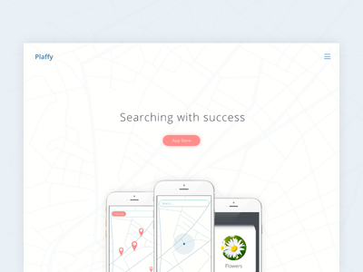 Plaffy iOS Mobile app - product page