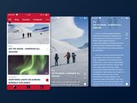News aggregator app - iOS
