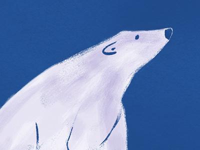 White Bear dyeos bear illustration white bear bear