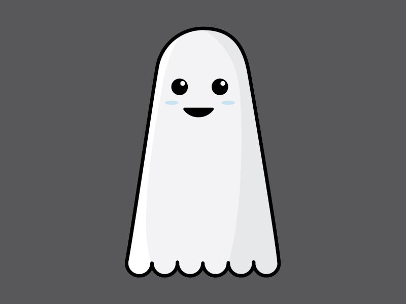 Ghosty illustration halloween ghost