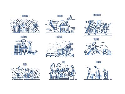 Emergency & Disaster Illustrations