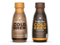 Crafty Bean Cold Brew Coffee Packaging