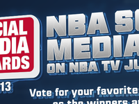 NBA Social Media Awards header
