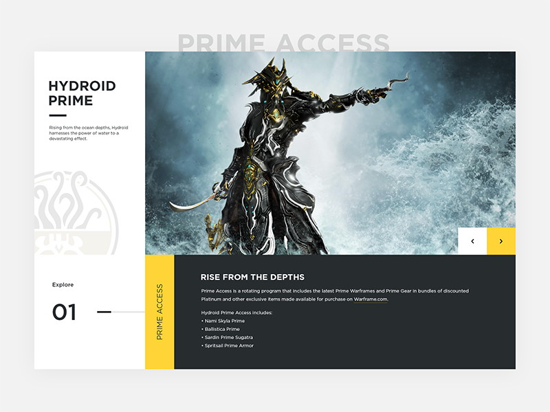 Warframe Prime Access Teaser by Jason Scholefield on Dribbble
