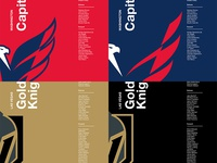 2018 NHL Playoffs Team Posters