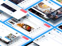 Redesign Facebook download ui social network facebook figma app