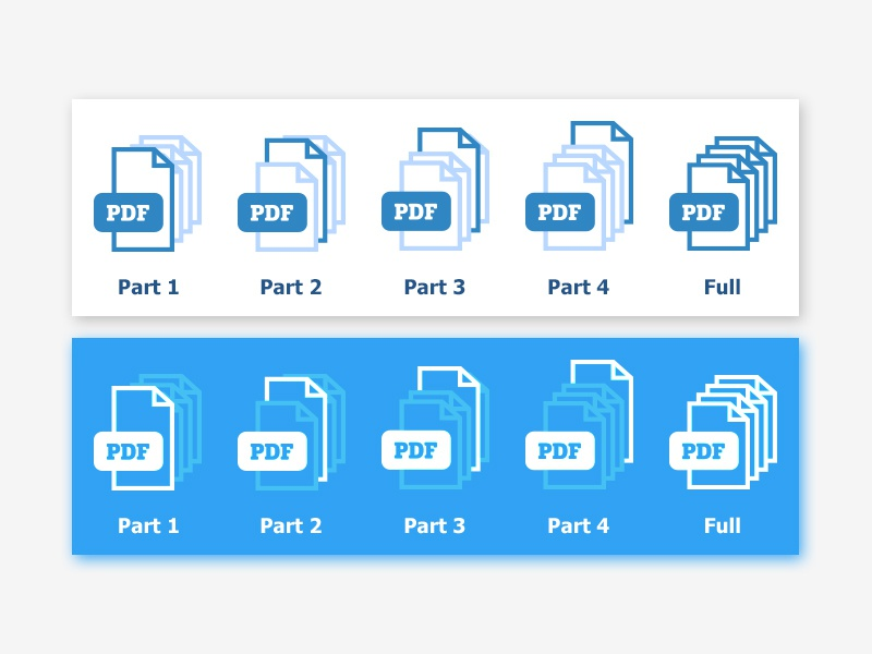 PDF icon vector pdf icon