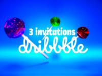 🍭 3 invitations 🍭