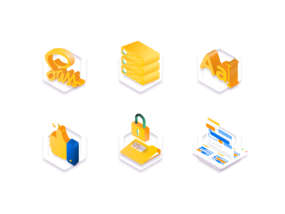 Isometric icon icon design illustrator adobe vector xd adobexd