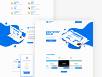 Bootstrap landing page