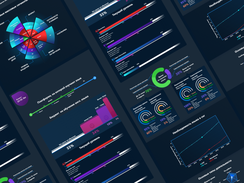 infographic graphic graph ui  ux ui stat analytics infograph infographic vector illustration interface adobexd design adobe