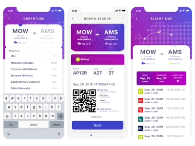 Airport App xd airport interface download adobexd iphone ui app