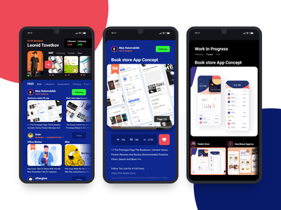 Behance redesign mobile like redesign apk app ui adobe adobexd behance