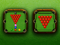 Snooker app icons