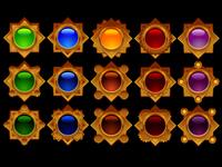 Match 3 Jewel Elements
