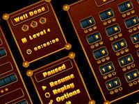 Match 3 Jewel UI Elements