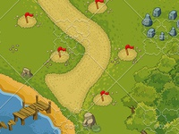 Tower Defence - Forest Elements