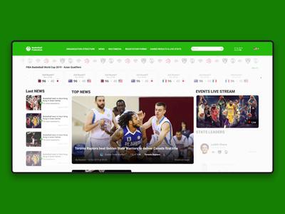 Basketball website