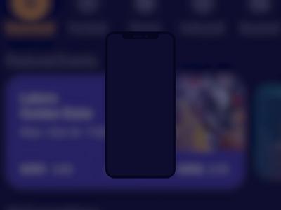 Betting app animation