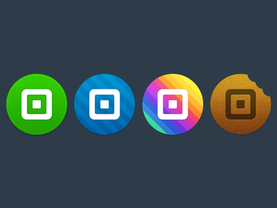 Square Order Android Icons
