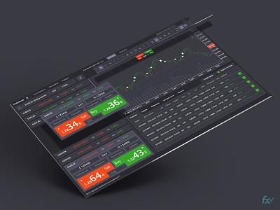 UI Forex-trade mountain green bank money cash fx forex